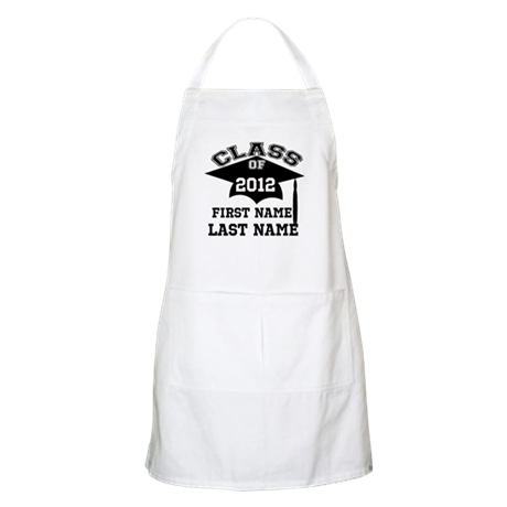 Customizable Senior Apron