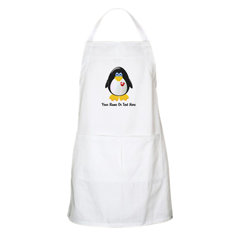 Customizable Penguin Apron