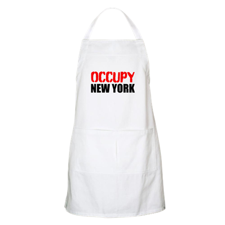 OCCUPY NEW YORK Apron