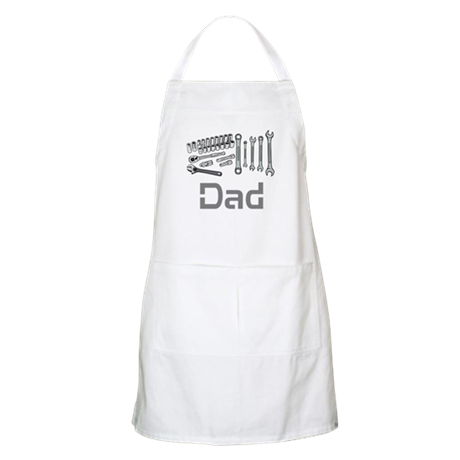 Dad, Tools, Wrenches. Apron