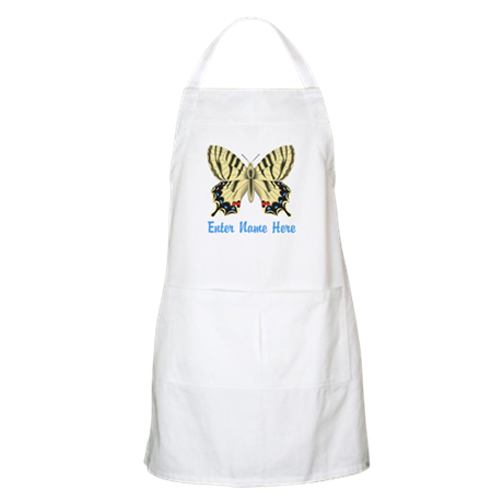 Personalized Butterfly Apron