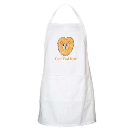 Lion. Add Your Custom Text. Apron
