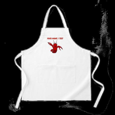 Custom Cartoon Lobster Apron