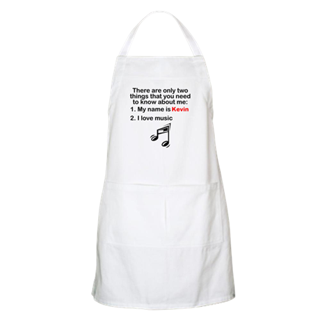 Two Things Music Apron