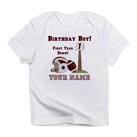 football t shirt cake template - 1st birthday football infant t shirt by