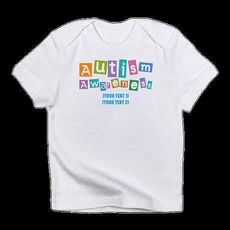 Personalize Autism Awareness Infant T-Shirt