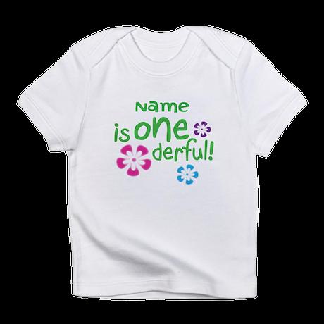 Custom 1 one year old Infant T-Shirt
