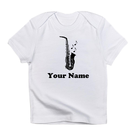 Personalized Saxophone Infant T-Shirt