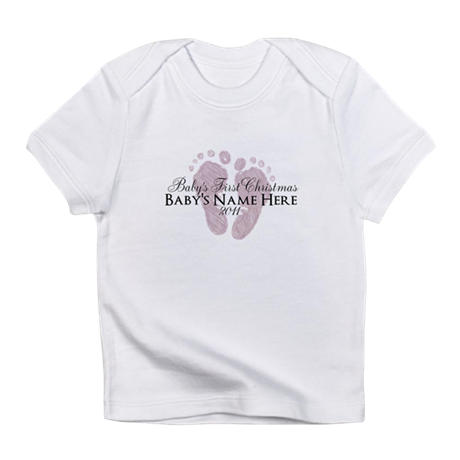 Sweet Footprints - Baby's Fir Infant T-Shirt
