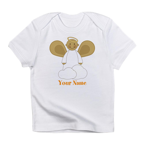 Personalized Christmas Angel Infant T-Shirt