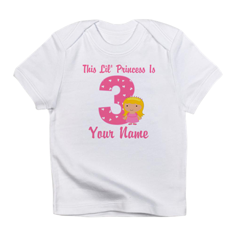 3rd Birthday Princess 2 Infant T-Shirt