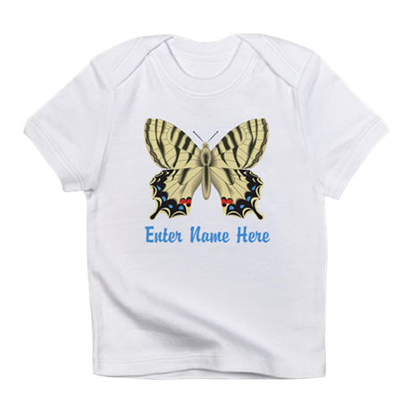 Personalized Butterfly Infant T-Shirt