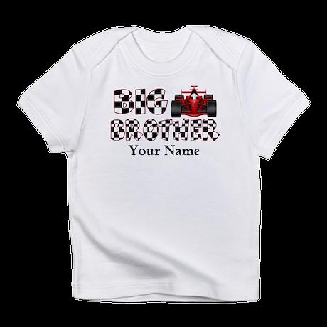 Big Brother Race Car Infant T-Shirt