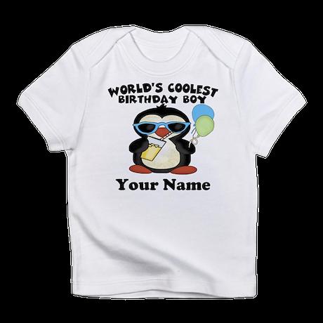 Coolest Birthday Boy Infant T-Shirt