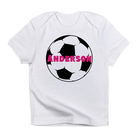 Personalized Soccer Infant T-Shirt
