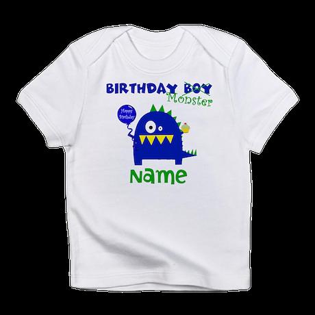 Birthday Boy Monster Infant T-Shirt