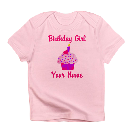 1st Birthday Cupcake Infant T-Shirt