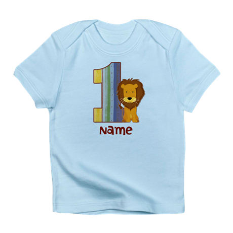 First Birthday Lion Infant T-Shirt