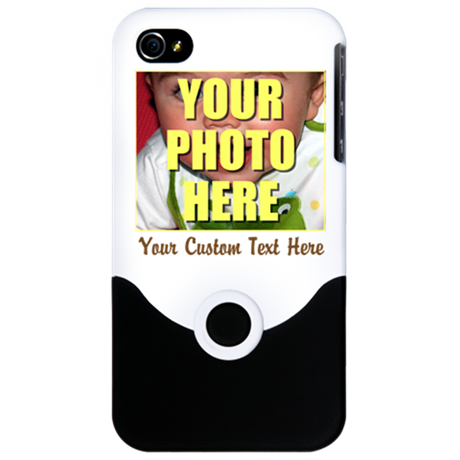 Custom Photo and Text iPhone 4 Slider Case