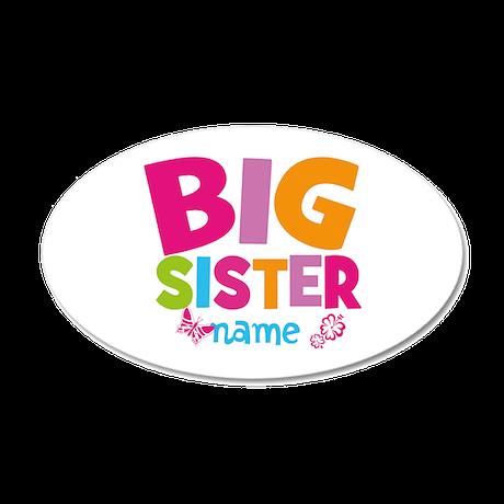 personalized name big sister wall sticker by bimbykids