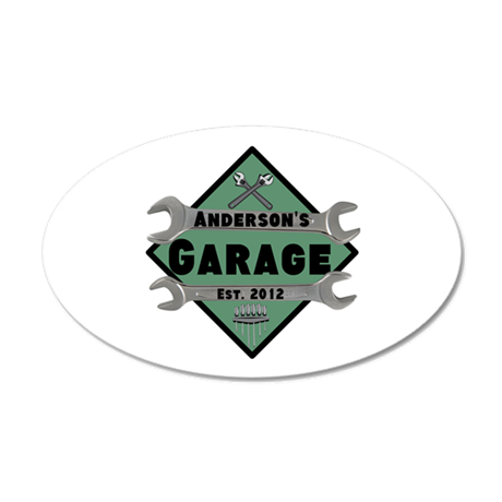 personalized garage wall sticker by personalizedgifts2 beautiful personalized wall stickers wall art decals