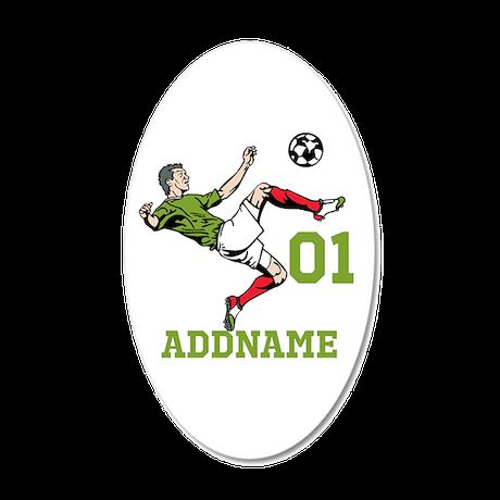 customizable soccer wall sticker by familyemporium