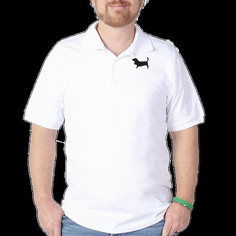 Basset Hound Golf Shirt