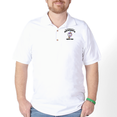 Grandpa To Be Personalized Golf Shirt