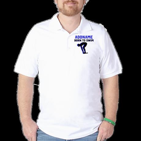 SWIMMER CHAMP Golf Shirt