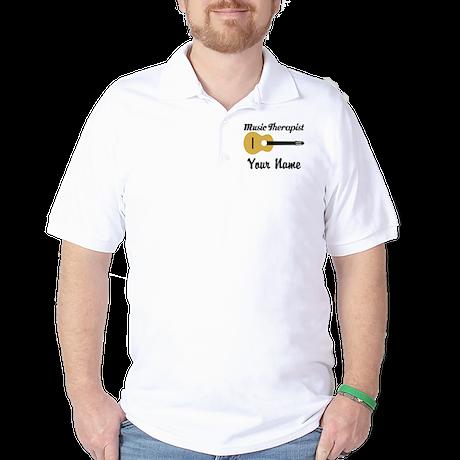 Personalized Music Therapist Golf Shirt