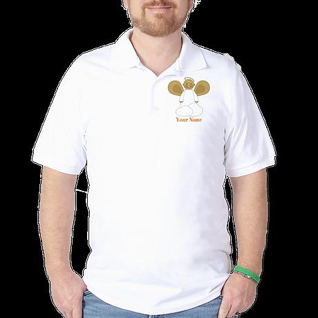 Personalized Christmas Angel Golf Shirt