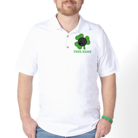 Personalized Irish Bowling Gift Golf Shirt
