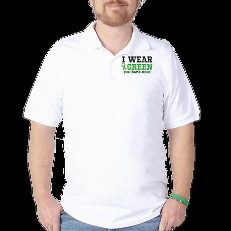 Personalize I Wear Green Golf Shirt