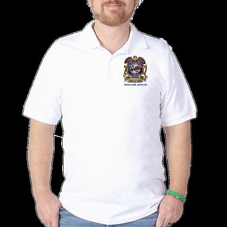 USS Enterprise CVN-65 Final Voyage Golf Shirt