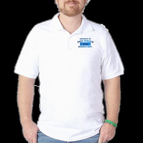 Personalized Property of Dogo Canario Golf Shirt