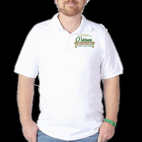 Honorary Irishman Lookin Lucky Golf Shirt