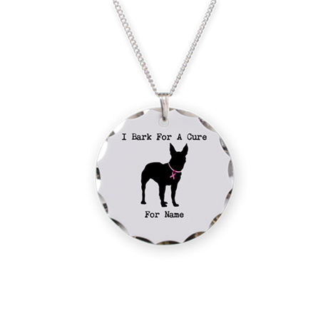 Bull Terrier Personalizable Bark For A Cure Neckla