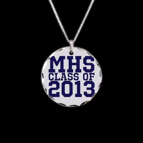 2013 Graduation Necklace Circle Charm