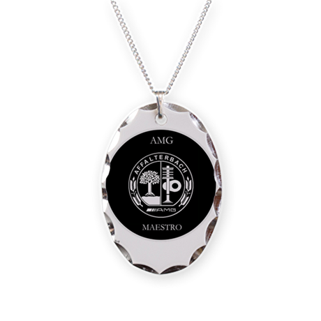 AMG Maestro Necklace Oval Charm