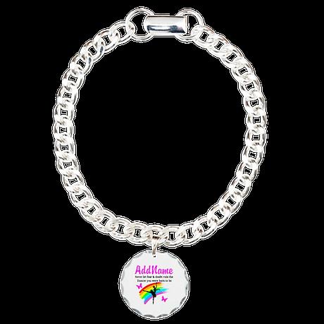 DAZZLING DANCER Charm Bracelet, One Charm