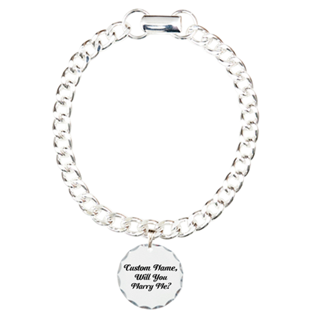 Marry Me Personalized Bracelet