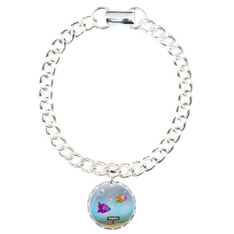 Under the Sea Fish - Charm Bracelet, One Charm