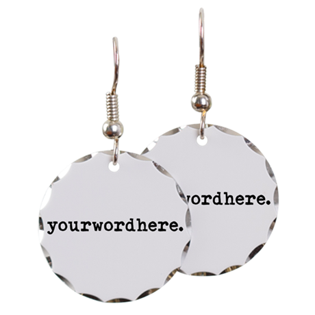 Create Your Own Earring Circle Charm