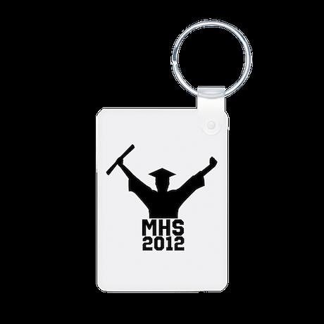 2012 Graduation Aluminum Photo Keychain