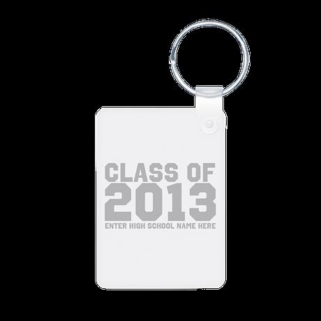 2013 Graduation Aluminum Photo Keychain