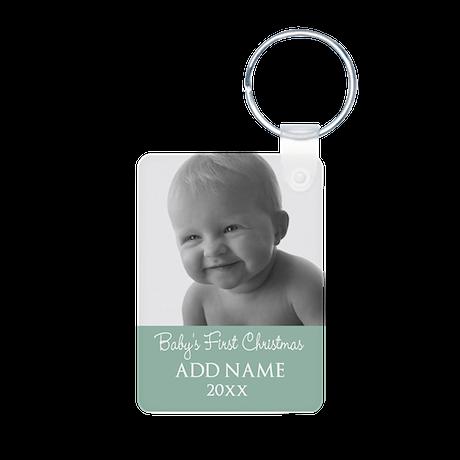 Add Baby Photo Mint Keychains