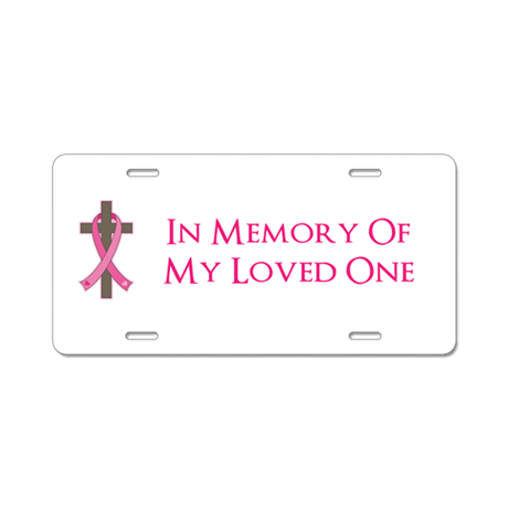 memory cross template - in memory cross aluminum license plate by 1512blvd
