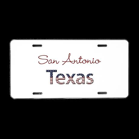 Custom Texas Aluminum License Plate by namestuff_customtown