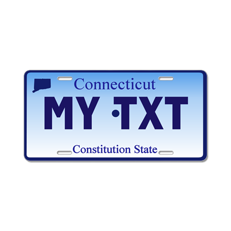 Connecticut - Constitution State - License plate