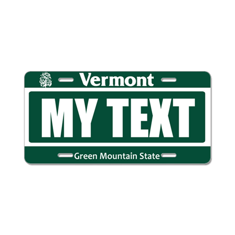 Vermont - Green Mountain State license plate